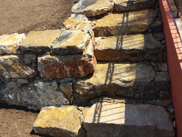 Création escaliers en pierre